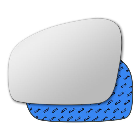 Mirror glass for Skoda Fabia Mk2 2007 - 2014