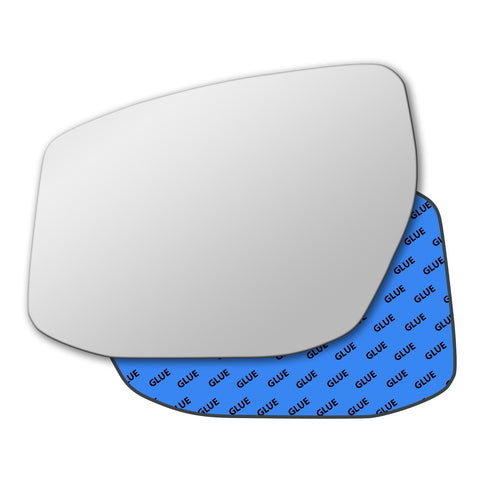 Mirror glass for Nissan Pulsar C13 2014 - 2020
