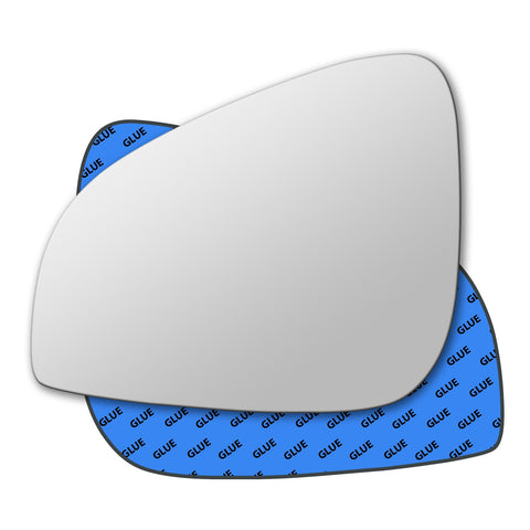 Mirror glass for Peugeot 407 2009 - 2010