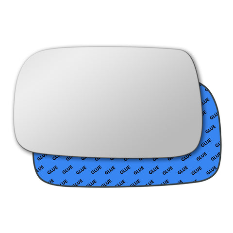 Mirror glass for Toyota Yaris Mk1 1999 - 2005