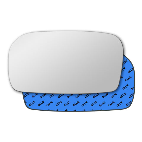 Mirror glass for Honda Civic Mk7 2000 - 2005