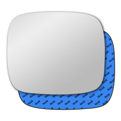 Mirror glass for Vauxhall Combo Mk1 B 1994 - 2001