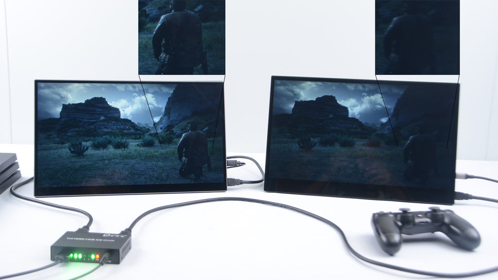 hdr 600 of QLED portable monitor