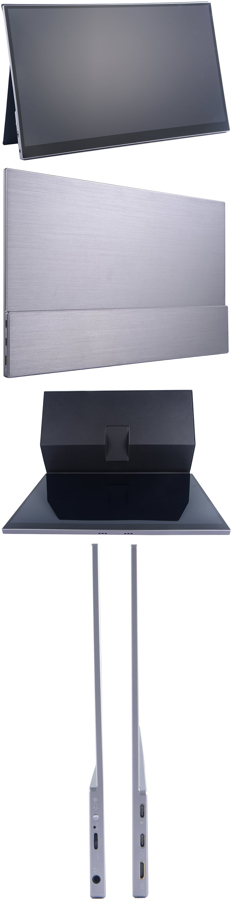 appearance of qled portable monitor