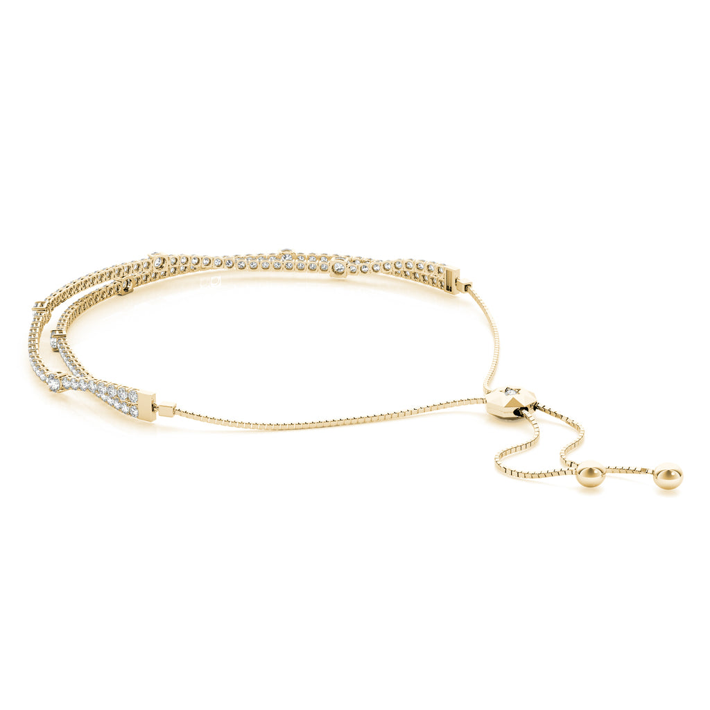 Double Strand Adjustable Bracelet