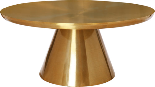 Martini Brushed Gold Coffee table