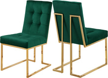 Load image into Gallery viewer, Pierre Green Velvet Dining Chair