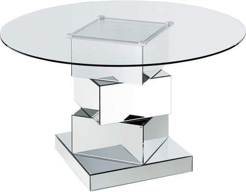 Haven Chrome Dining Table image