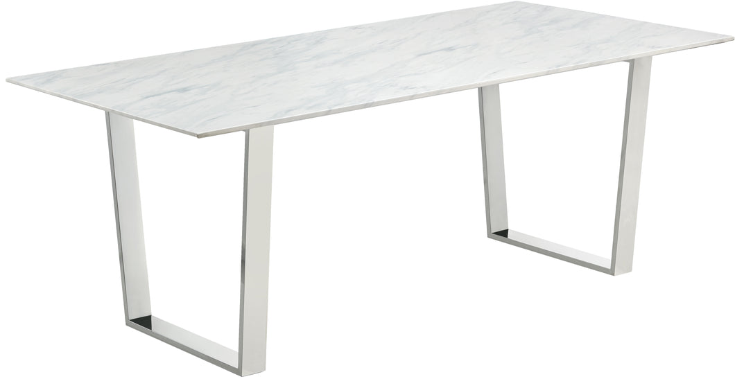 Carlton Chrome Dining Table