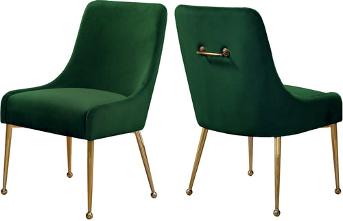Owen Green Velvet Dining Chair