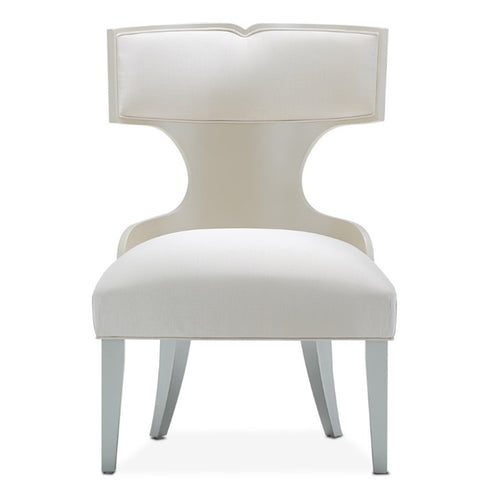 AICO Camden Court Vanity/Side Chair (Set of 2) in Pearl 9005033-126 image