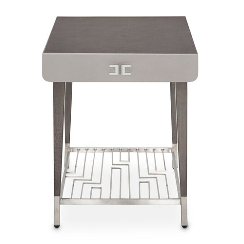 AICO Roxbury Park End Table in Slate 9006202-220 image