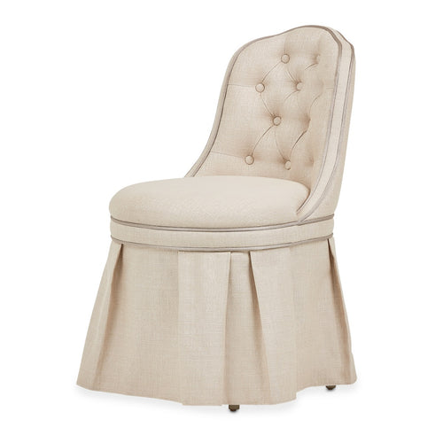 AICO Villa Cherie Tufted Vanity Chair in Caramel 9008804-000 image
