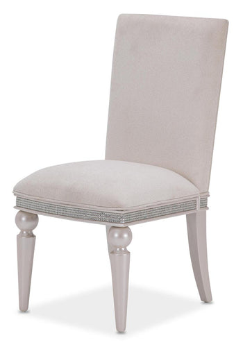 Aico Glimmering Heights Upholstered Side Chair in Ivory (Set of 2) 9011003-111 image