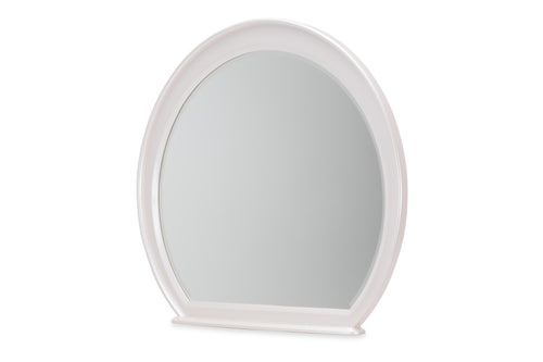 AICO Glimmering Heights Wall Mirror in Ivory 9011260-111 image