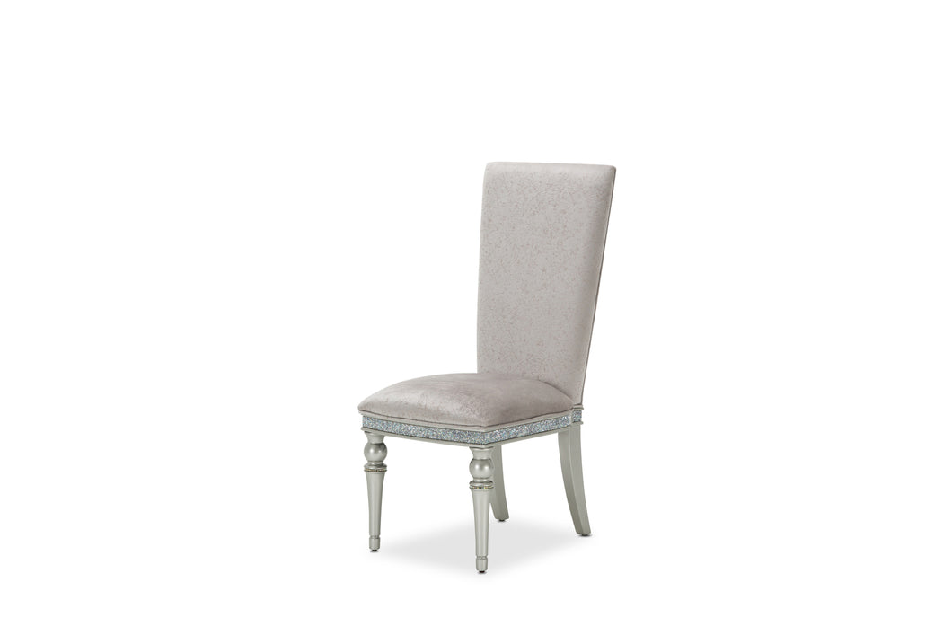 AICO Melrose Plaza Side Chair (Set of 2) in Dove 9019003-118 image