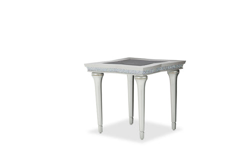 AICO Melrose Plaza End Table in Dove 9019202-118 image