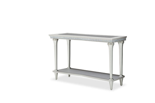 AICO Melrose Plaza Console Table in Dove 9019223-118 image