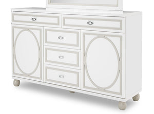 AICO Sky Tower Dresser in White Cloud 9025650-108 image