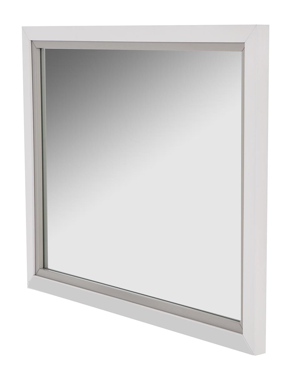 AICO Sky Tower Dresser Mirror in White Cloud 9025660-108 image