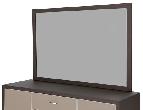 Aico 21 Cosmopolitan Dresser Mirror in Taupe/Umber 9029060-212 image