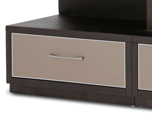 Aico 21 Cosmopolitan Left Entertainment Base in Umber/Taupe 9029097BL-212 image