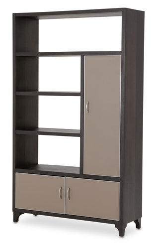 Aico 21 Cosmopolitan Right Bookcase in Umber/Taupe 9029098R-212 image