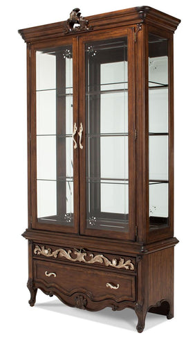 Aico Platine de Royale Curio in Light Espresso 09505-229 CLOSEOUT image