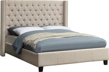 Load image into Gallery viewer, Ashton Beige Linen King Bed