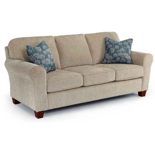 Annabel Collection STATIONARY SOFA W/2 PILLOWS image