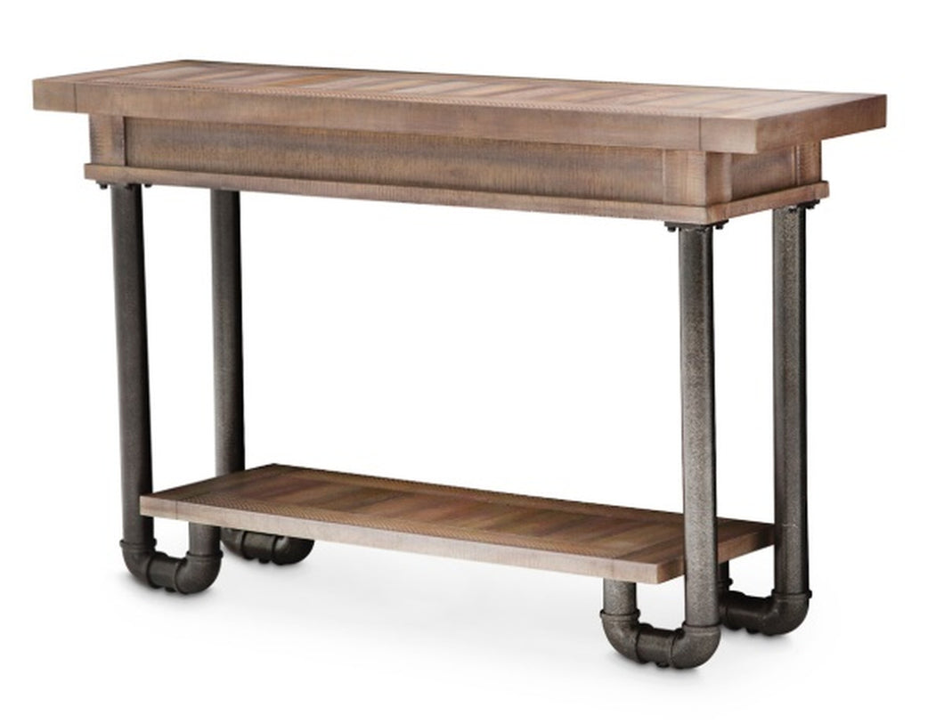 Aico Crossings Console Table in Reclaimed Barn KI-CRSG223-217 image