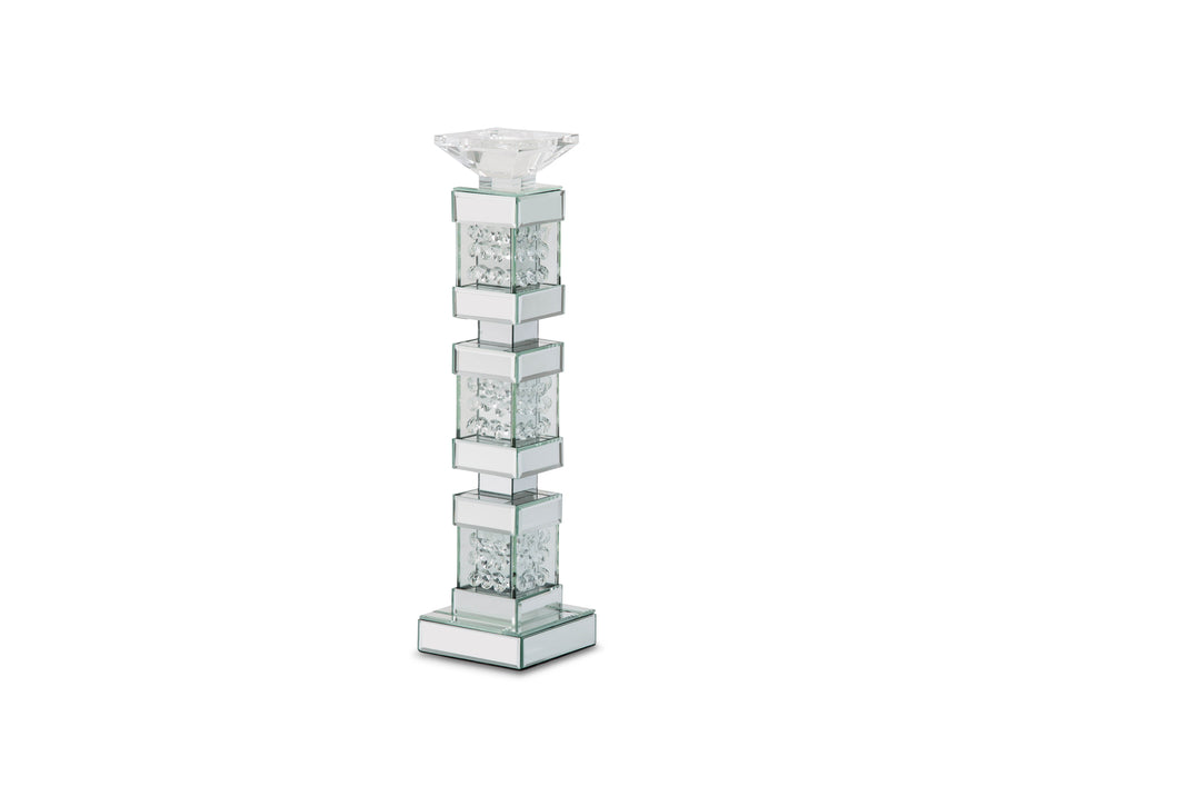 AICO Montreal Mirrored/Crystal Candle Holders, Tall (2/pack) FS-MNTRL151-PK2 image