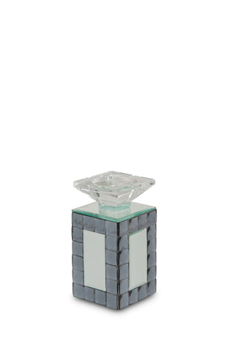 AICO Montreal Mirrored Candle Holder, Small (6/pack) FS-MNTRL152S-PK6 image