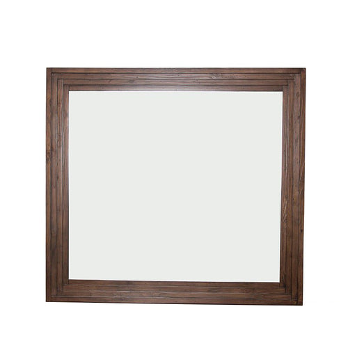 Aico Carrollton Mirror in Rustic Ranch KI-CRLN060-407 image