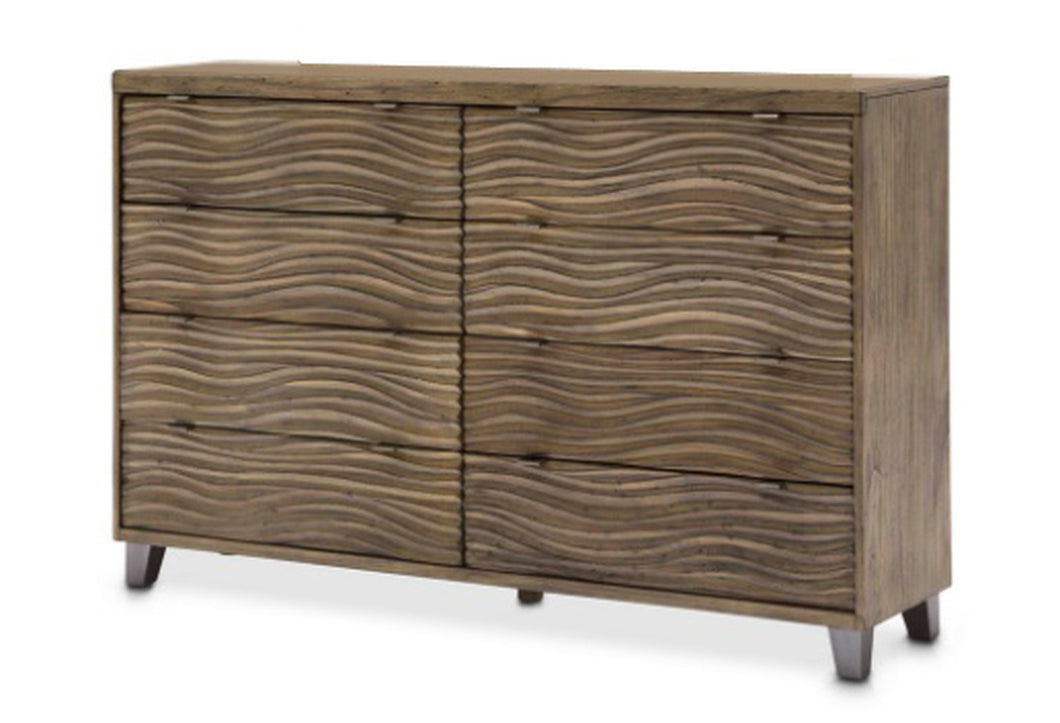 AICO Del Mar Sound Dresser in Boardwalk KI-DELM050-215 image