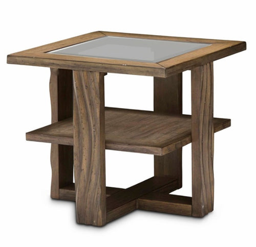 AICO Del Mar Sound End Table in Boardwalk KI-DELM202-215 image