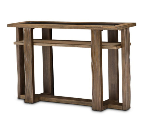 AICO Del Mar Sound Console Table  in Boardwalk KI-DELM223-215 image