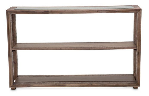 AICO Hudson Ferry Console Table in Driftwood KI-HUDF223-216 image