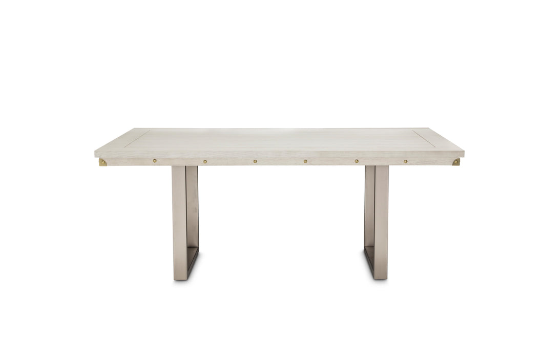 AICO Menlo Station Rectangular Dining Table in Eucalyptus KI-MENP000-123 image