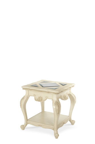 AICO Lavelle End Table in Blanc 54202-04 image