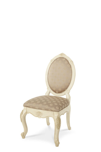 AICO Lavelle Upholstered Side Chair in Blanc (Set of 2) image