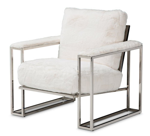 Aico Furniture Trance Chair in White TR-ASTRO35-MST-13 image