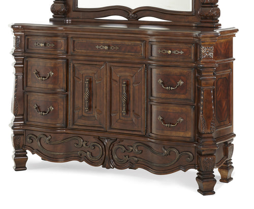 AICO Windsor Court Dresser in Vintage Fruitwood 70050-54 image