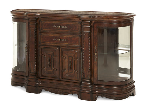 AICO Windsor Court Sideboard in Vintage Fruitwood 70007-54 image