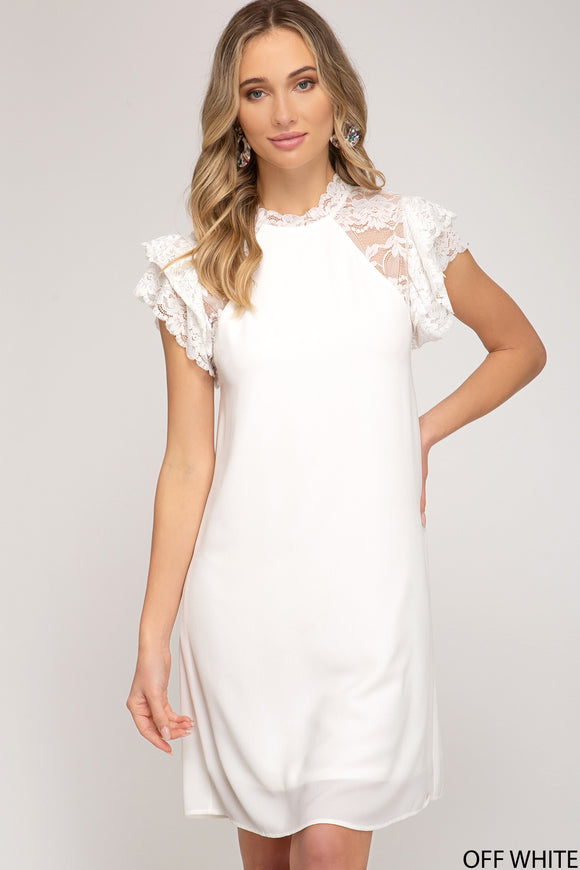 Robin Dress - White