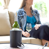 Wine Chiller - Iceless, Double-wall Wine Bottle Chiller - ChillnJoy - The QUICKEST Way to Cool