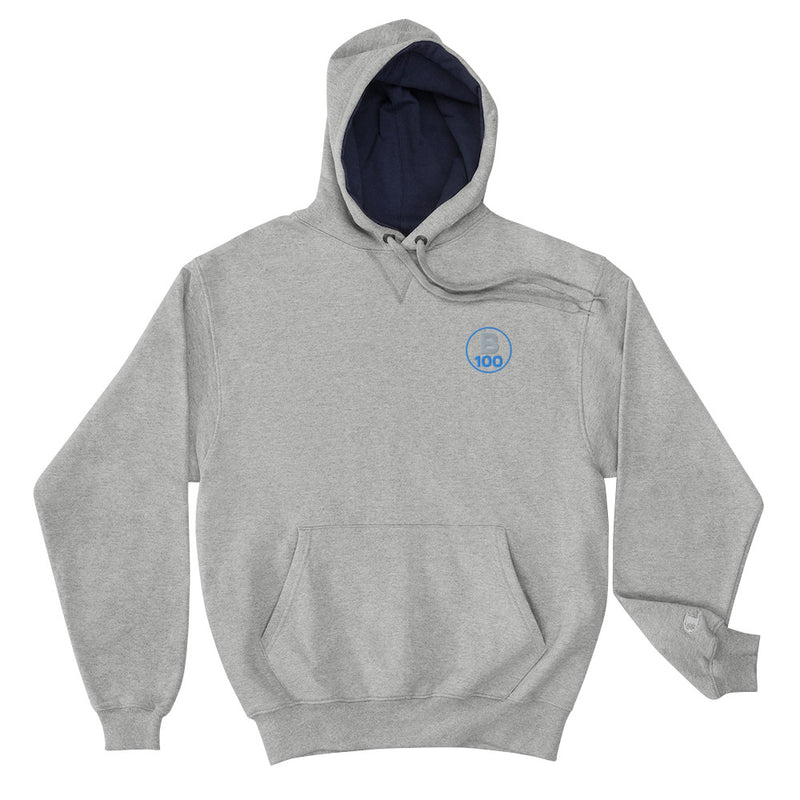 Men's Champion Grey Hoodie