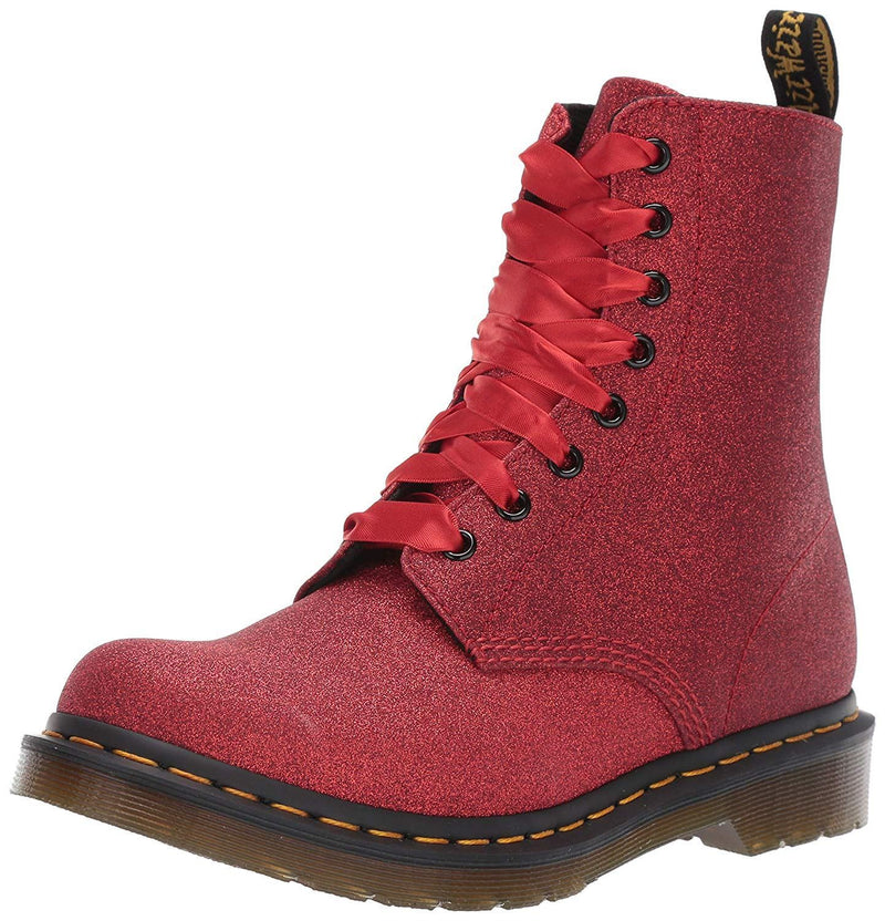 Dr Martens 1B99 Navy Darcy Floral 14 eyelets Leather Womens Boots