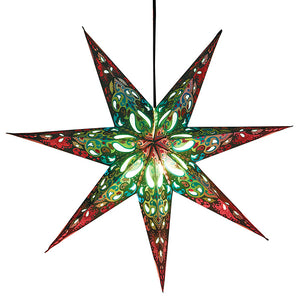 Star lampshade (Recycled)