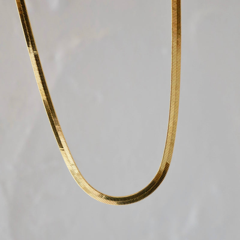 HERRINGTON GOLD PLATE CHAIN